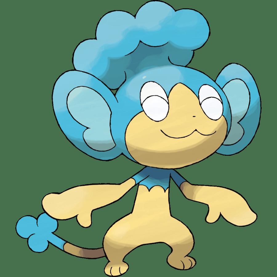 Panpour from Pokemon Generation 5