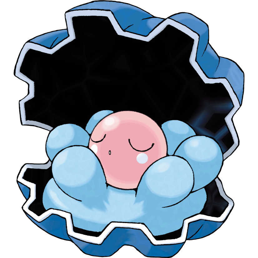 Clamperl from Pokemon Generation 3