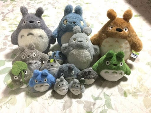 Totoro and friends are a plushie collector's dream in Japan