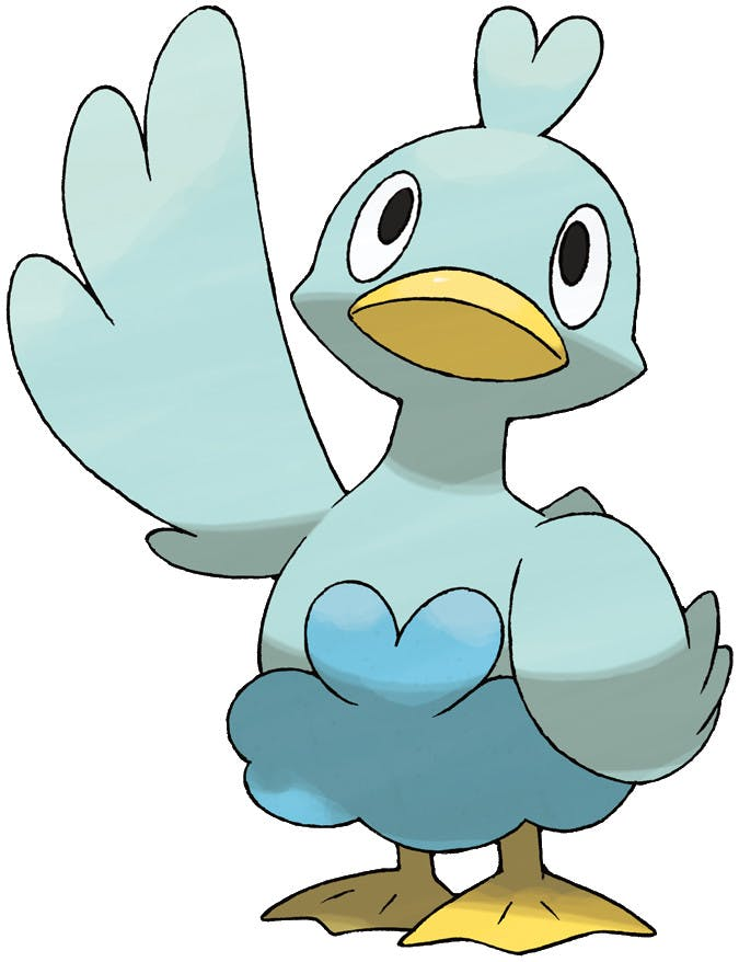 Ducklett from Pokemon Generation 5