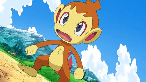 Chimchar is one the cutest fire type pokemon around!