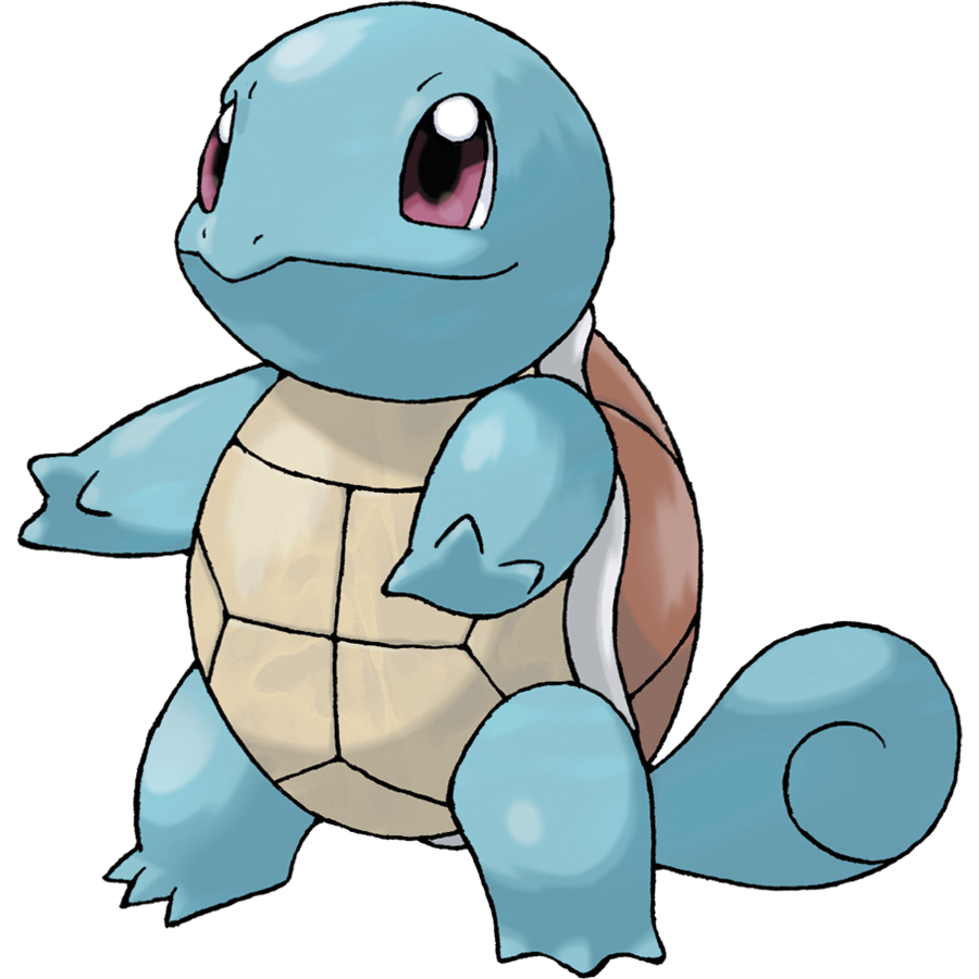 Squirtle from Pokemon Generation 1