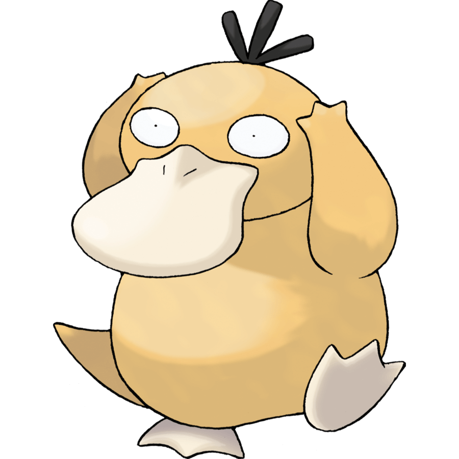 Psyduck from Generation 1 of Pokemon