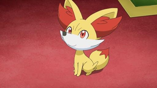 Fennekin is one of the cutest fire type pokemon that evolves into an arcane fox!