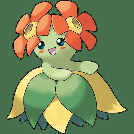 Cute Grass Type Pokemon