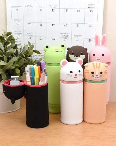 Lihit Lab Japanese pen cases and stationary