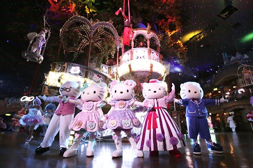 Hello Kitty from Sanrio is perhpas the most famous cute Japanese character across the world!