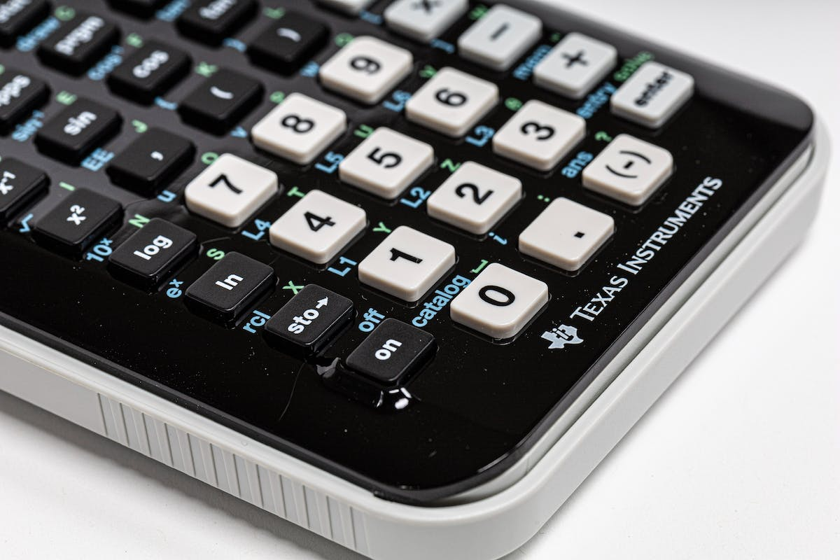 A calculator - Photo by Ray Reyes on Unsplash