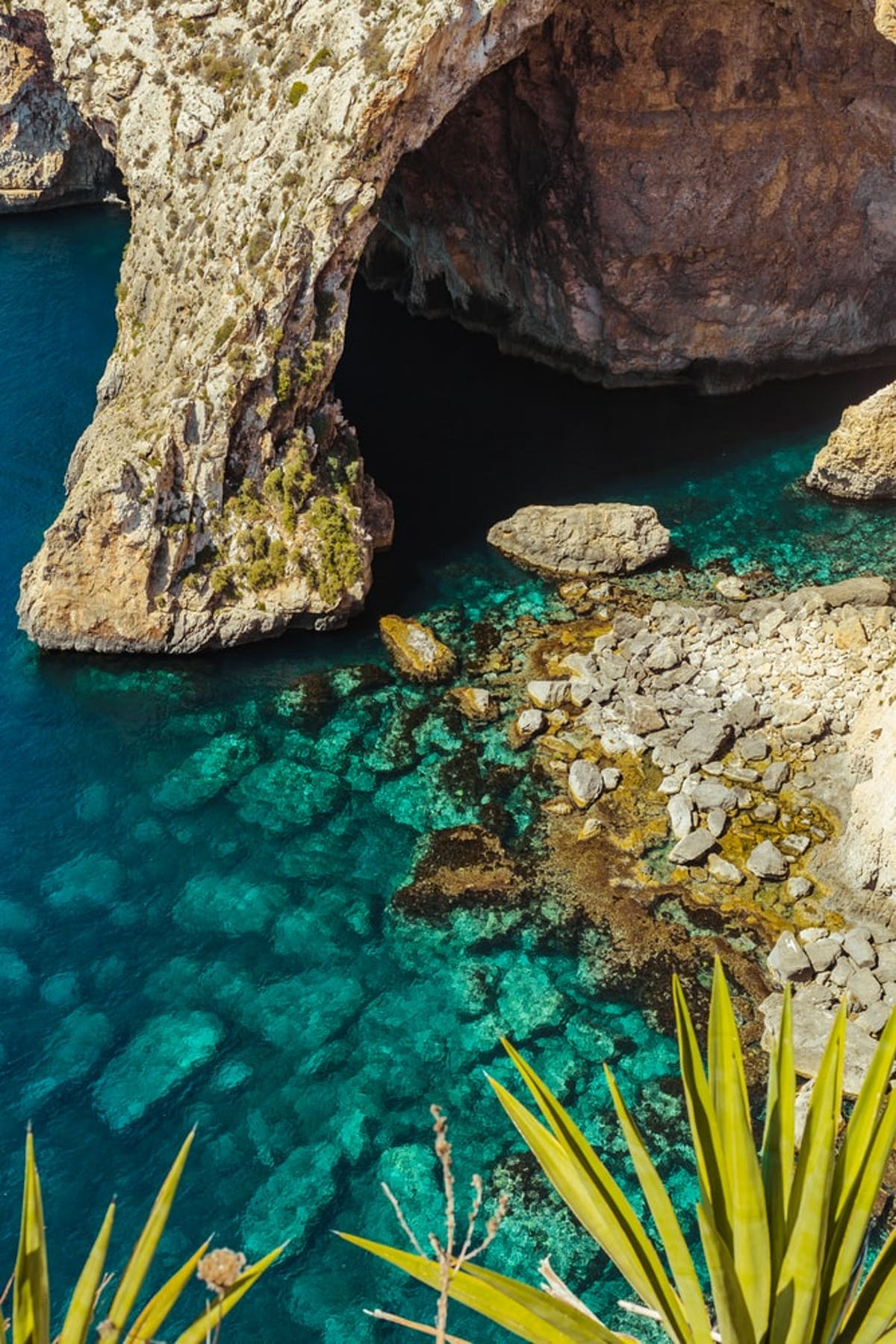 View on blue grotto