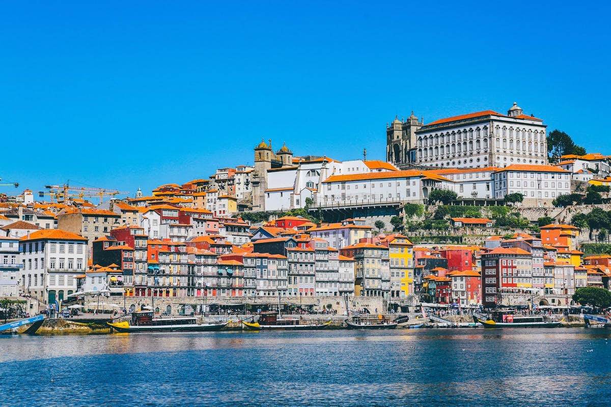 Maisons colorées de Porto