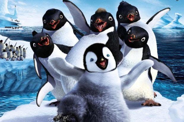Happy feet: o pinguim filme