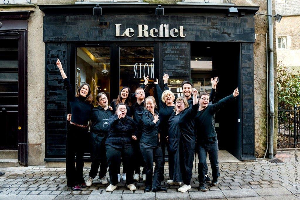 Photo de l'équipe du restaurant le Reflet