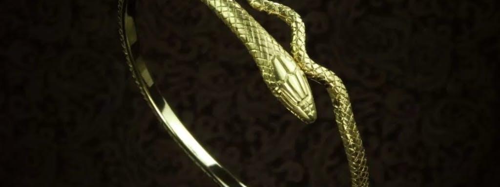 Bransoleta z wężem ze złota 960.