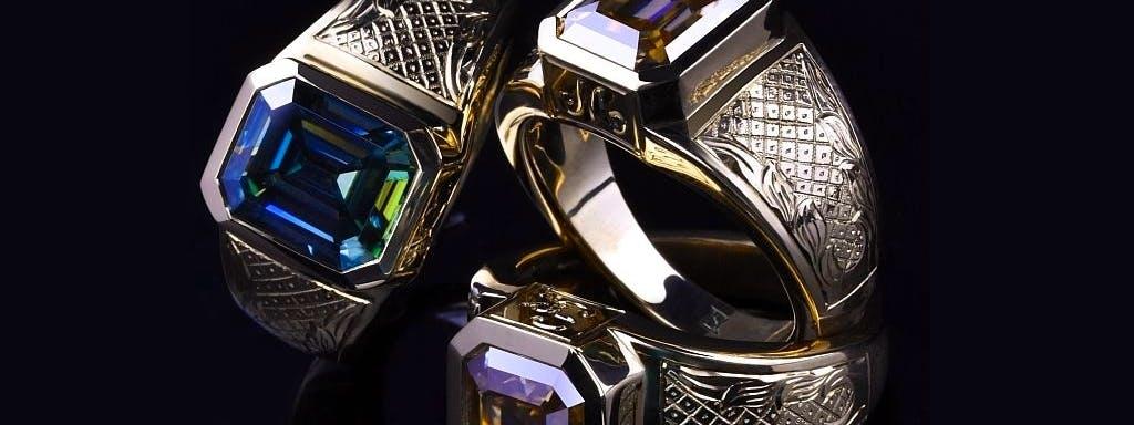 złote sygnety na zamówienie z litego złota