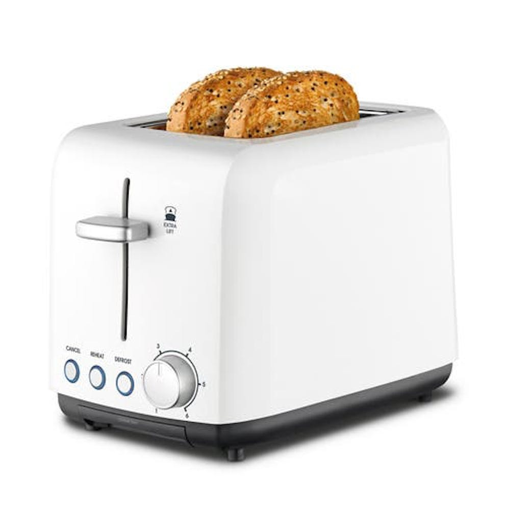Kambrook Perfect Fit Wide Slot 2 Slice Toaster
