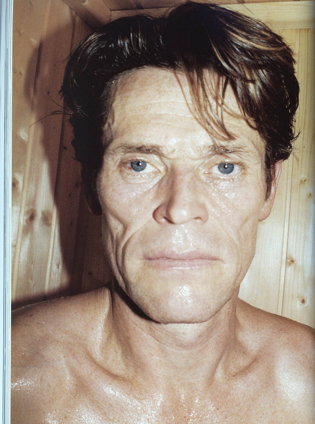 Willem Dafoe by Juergen Teller