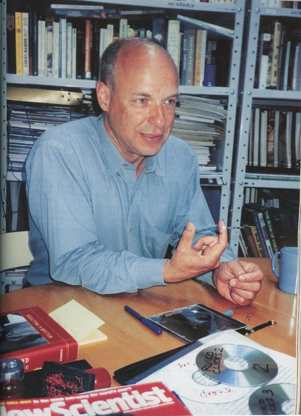 Brian Eno by Letta Harding