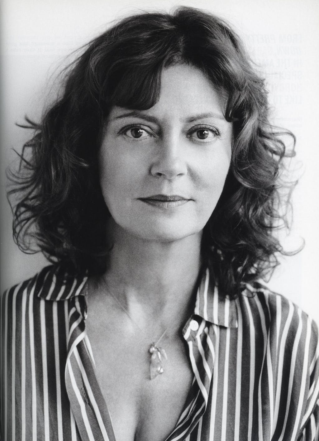 Susan Sarandon by Terry Richardson