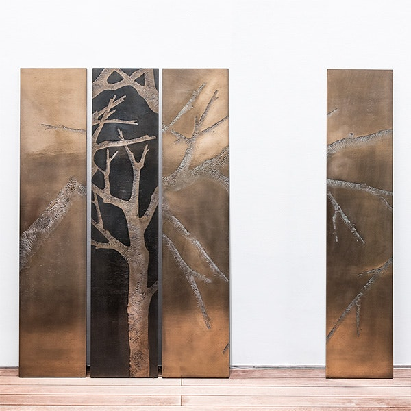 Metal forest