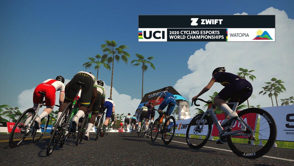 2020 UCI eスポーツ世界選手権大会 - Zwift