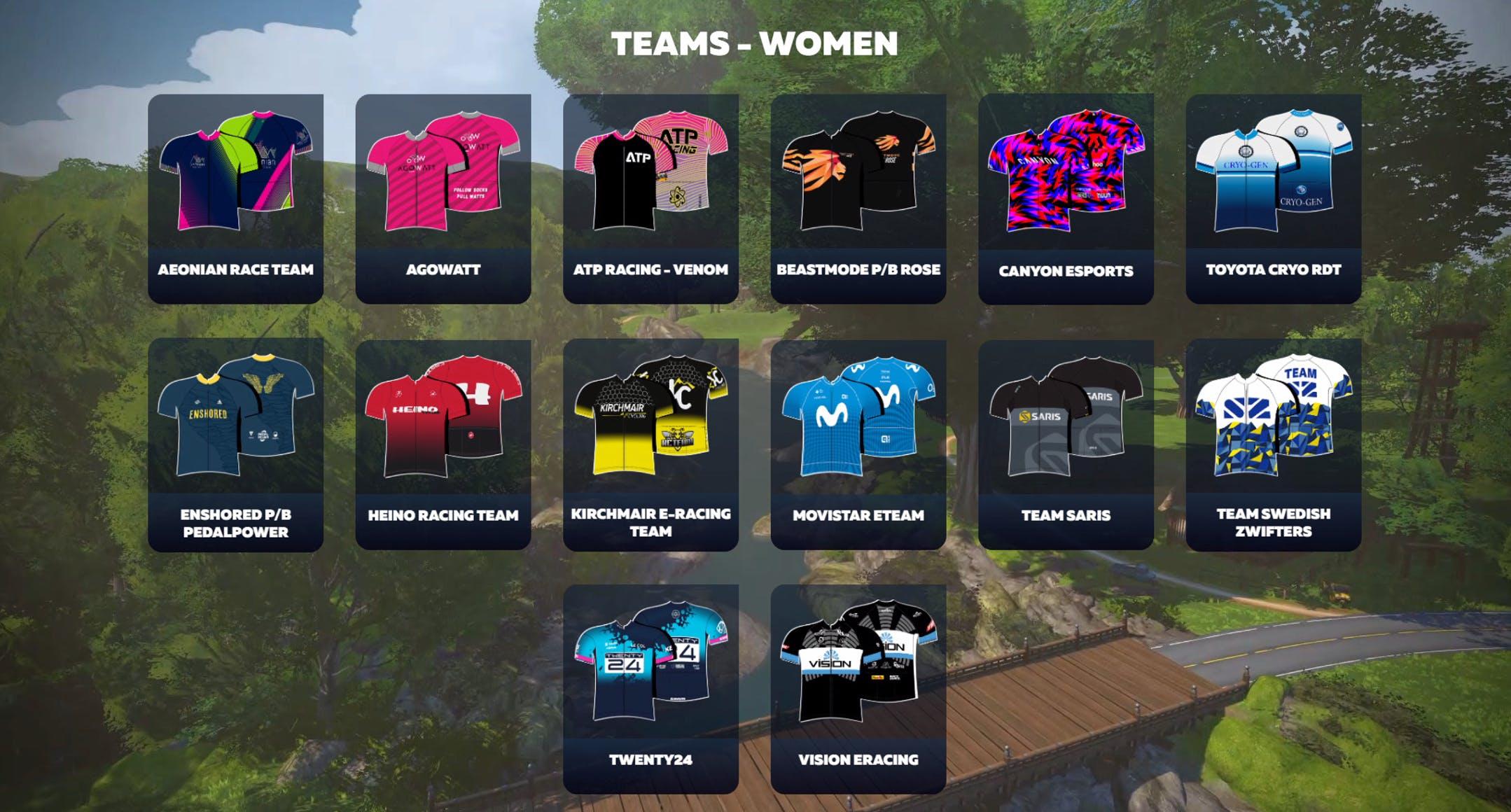 Women's Teams