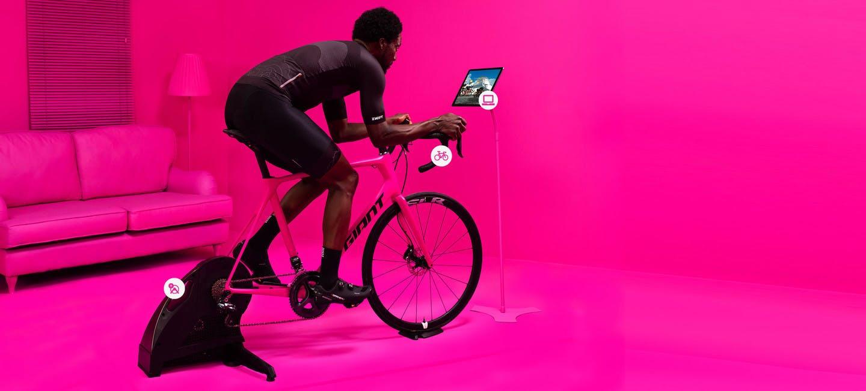 fahrrad rollentrainer test