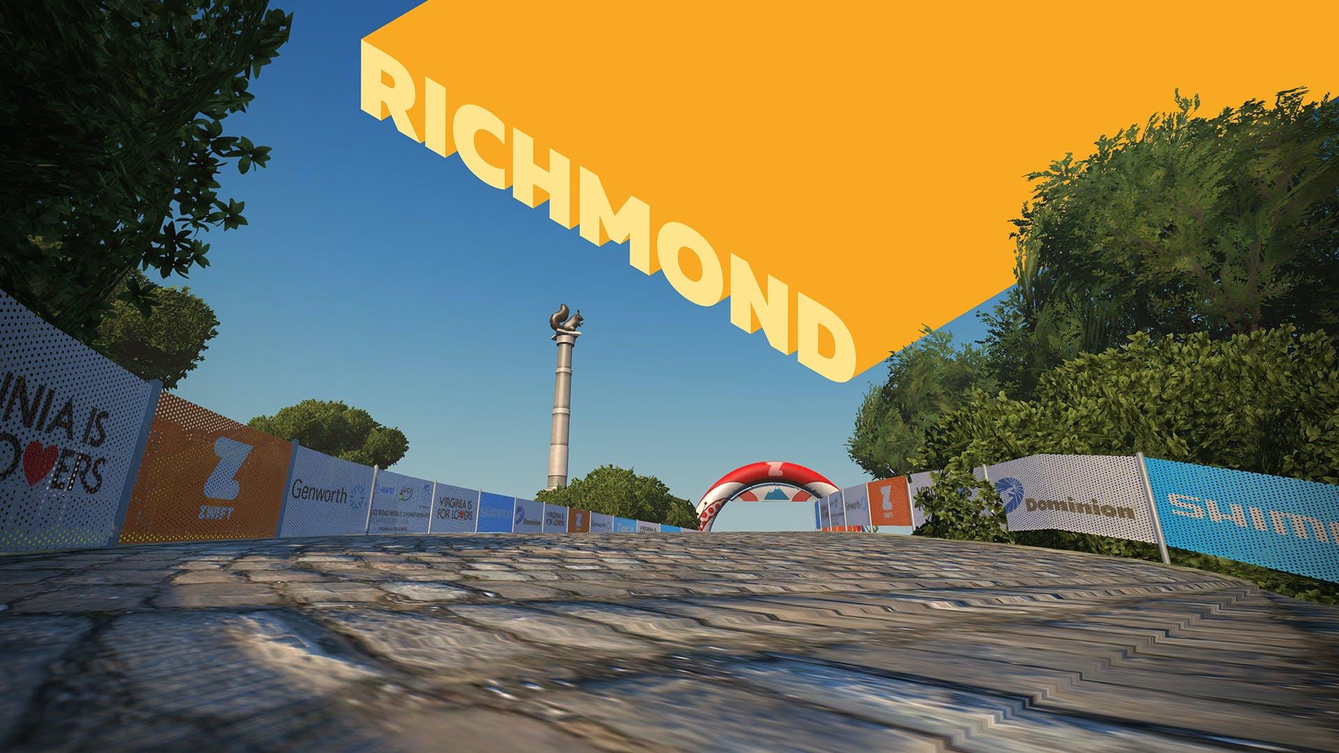 6. Etappe: Richmond
