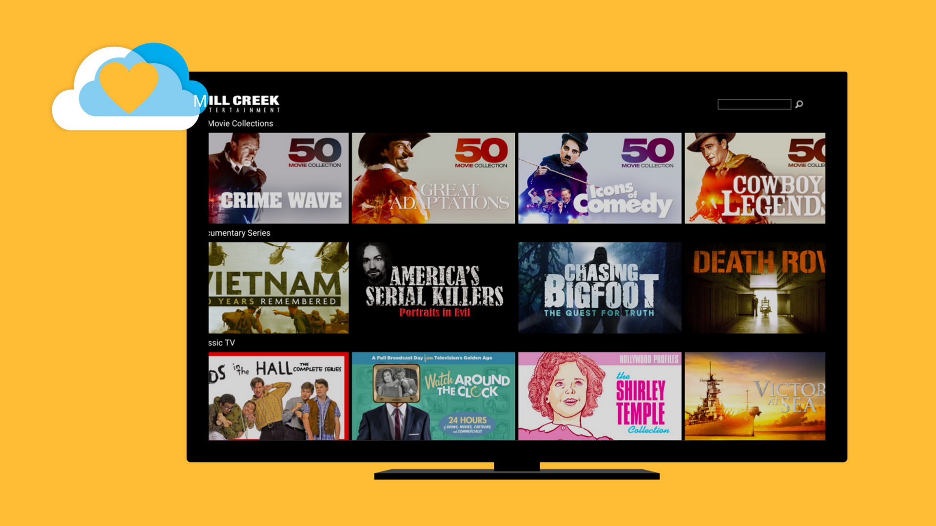 Zype's Streaming Crush of the Week: Mill Creek Entertainment