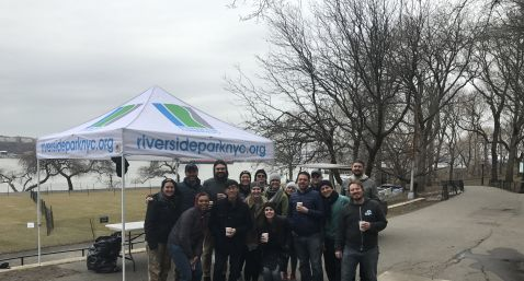 Zype Community Project at Riverside Park