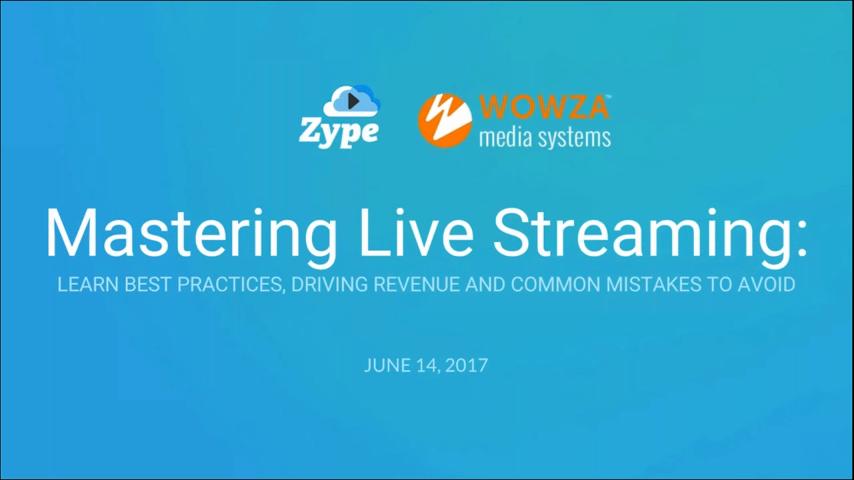 Mastering Live Streaming: Webinar Recap