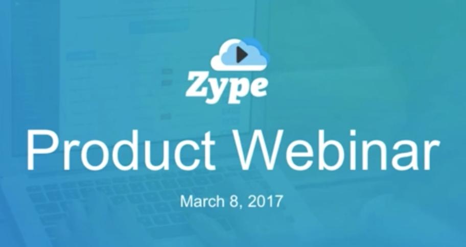 Categorization, Curation and Distribution: Zype Webinar Recap