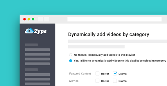 How to Create Dynamic Playlists with MRSS Feeds and Categories