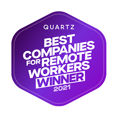 Zype Included in Quartz Best Companies for Remote Workers 2021