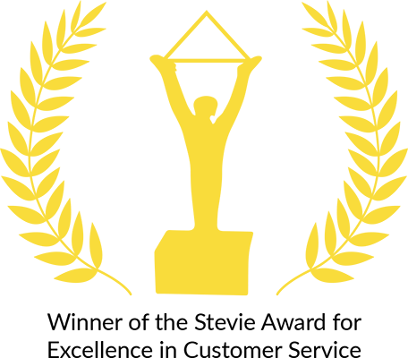 Stevie Award for Excellence In Customer Service