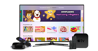 Top Kids' Content Producer Now on Apple TV and Roku