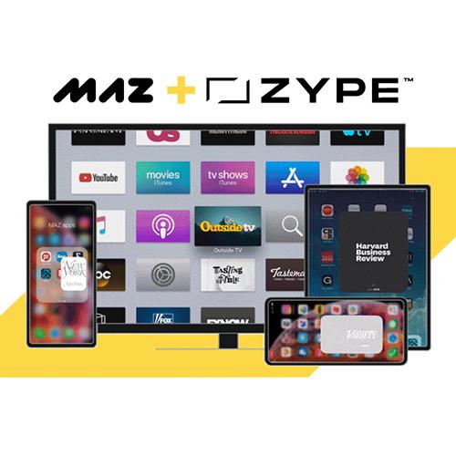 Zype + MAZ acquisition announcement